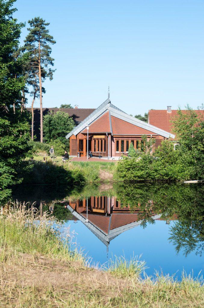 Der Pavillon am Mühlenteich